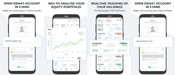 5Paisa Mobile Trading  App