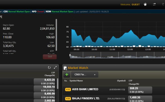 NSE NOW - Trading Platform