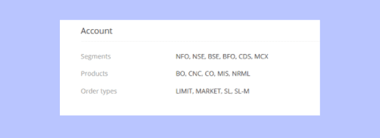 What is bfo in Zerodha