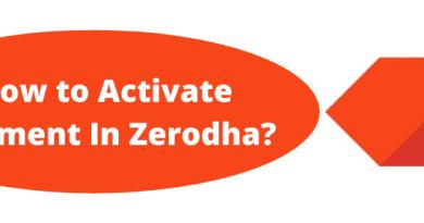 How to Activate Segment In Zerodha?